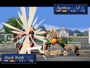 Som i Fire Emblem er alle slagende vist i fuld 3D.
