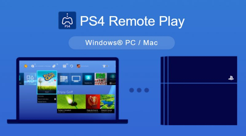 PlayStation 4 Remote Play