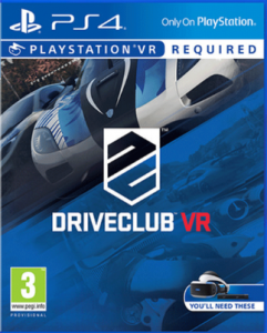 Driveclub VR Cover