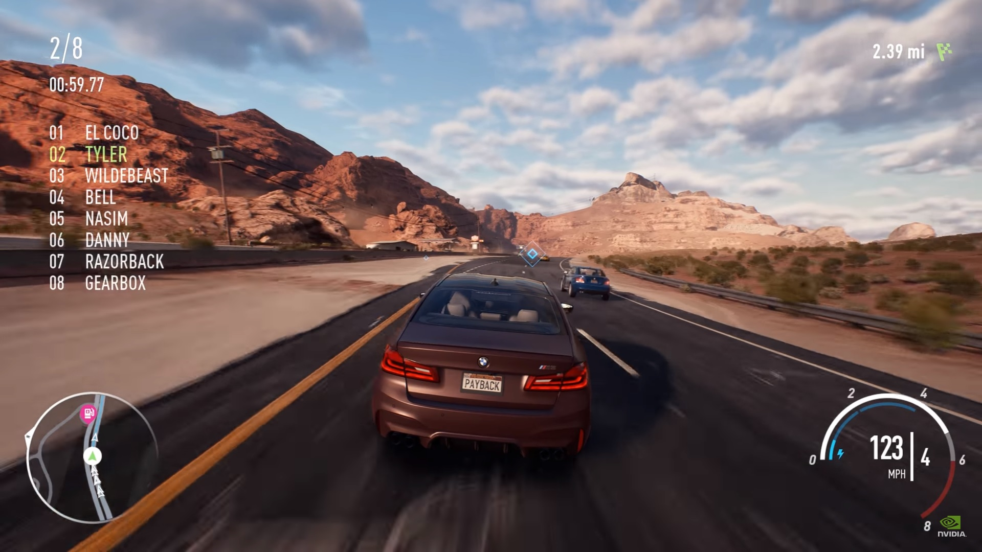 need for speed payback geek culture. Black Bedroom Furniture Sets. Home Design Ideas