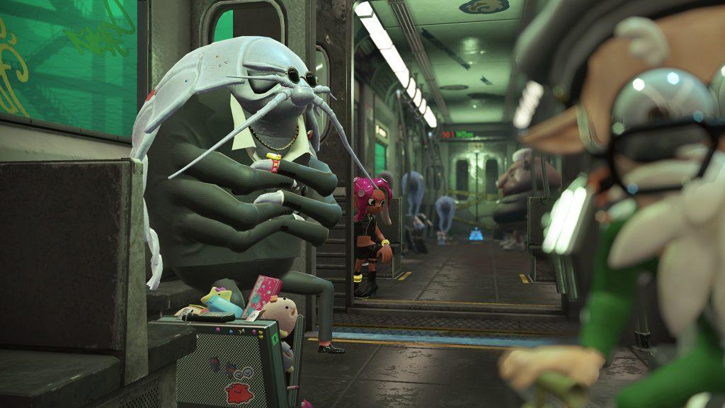 Ombord i undergrundsbanen